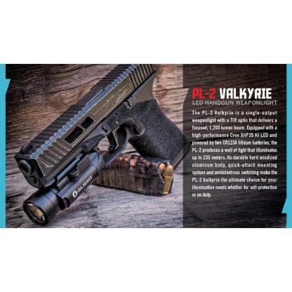 Olight PL-2 Valkyrie Gun Light - 1200 Lumens (235m)-15437