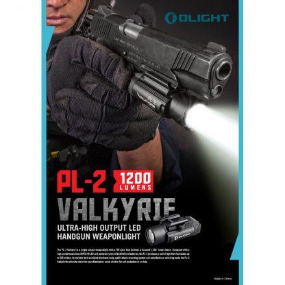 Olight PL-2 Valkyrie Gun Light - 1200 Lumens (235m)-15430