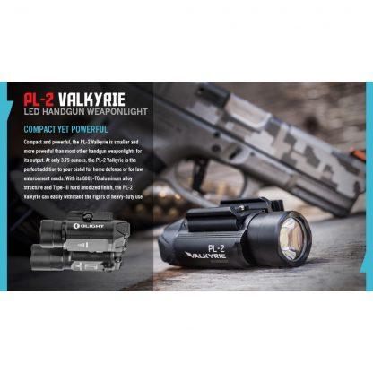 Olight PL-2 Valkyrie Gun Light - 1200 Lumens (235m)-15447