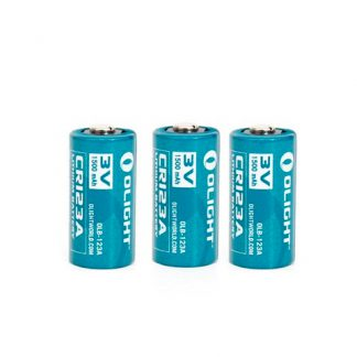 Olight CR123A Lithium Non-Rechargeable Single Battery - 1600mAh -0