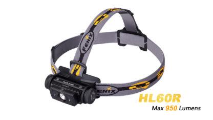Fenix HL60R Rechargeable Headlamp (950 lumens)-10413