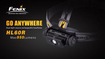 Fenix HL60R Rechargeable Headlamp (950 lumens)-10415