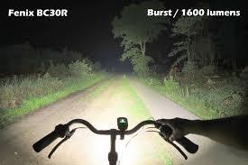 Fenix BC30R Rechargeable Bike Light (1800 lumens)-15922