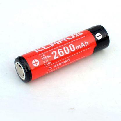 Klarus 18650 2600mah rechargeable battery-0