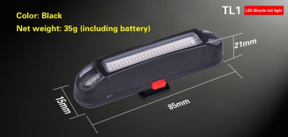 Klarus TL1 USB Rechargeable Bike Tail Light -10539