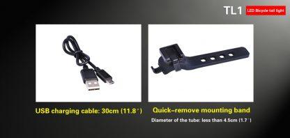 Klarus TL1 USB Rechargeable Bike Tail Light -10541