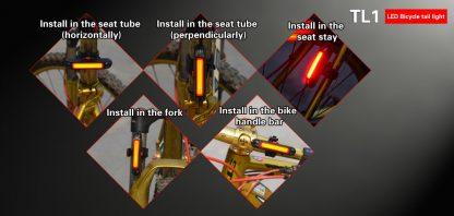 Klarus TL1 USB Rechargeable Bike Tail Light -10543
