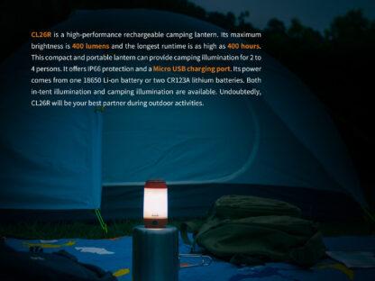Fenix CL26R Camping Lantern (400 Lumens)-15248