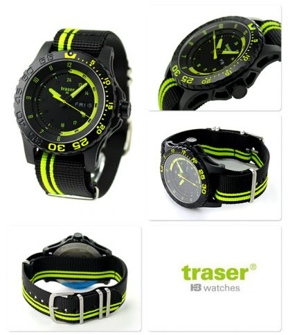 Traser P66 Green Spirit Watch with NATO Band-10865