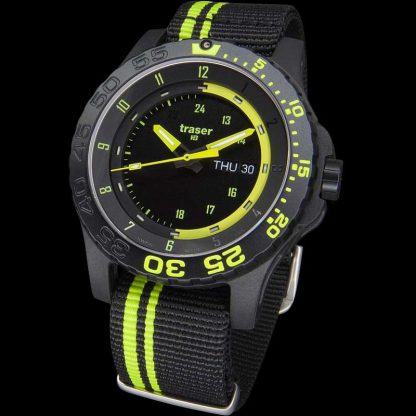 Traser P66 Green Spirit Watch with NATO Band-10873