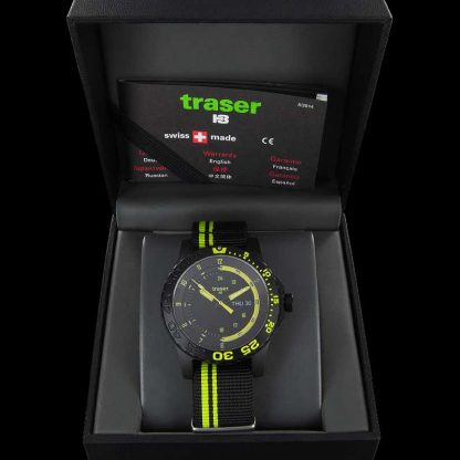 Traser P66 Green Spirit Watch with NATO Band-10868