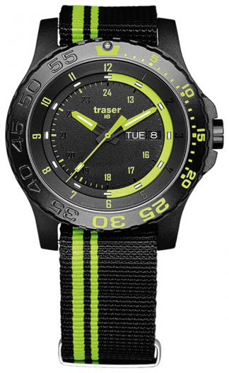 Traser P66 Green Spirit Watch with NATO Band-0