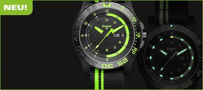 Traser P66 Green Spirit Watch with NATO Band-10866