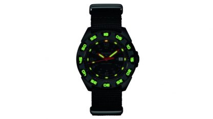 Traser P49 Red Alert T100 Watch with NATO Band-15539