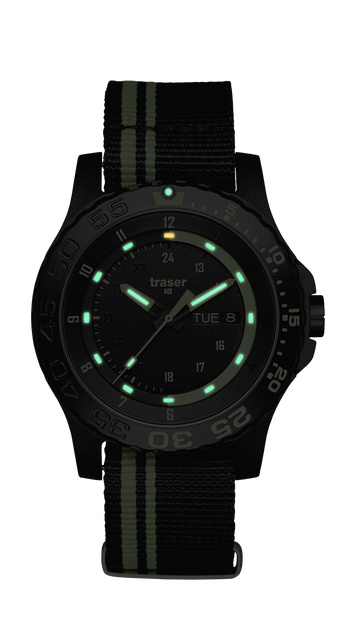 Traser P66 Green Spirit Watch with NATO Band-10864