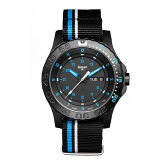 Traser P66 Blue Infinity Watch with NATO Band-0