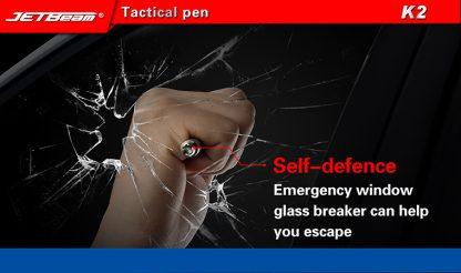 JETBeam K2 Titanium Tactical Pen-11040