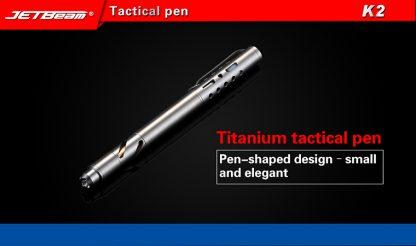 JETBeam K2 Titanium Tactical Pen-11047