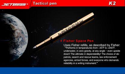 JETBeam K2 Titanium Tactical Pen-11046