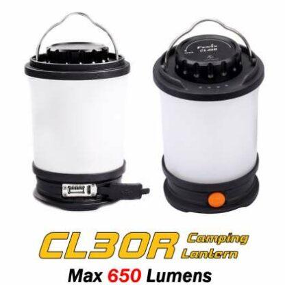 Fenix CL30R Rechargeable Camping Lantern (650 Lumens)-11102