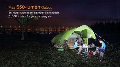 Fenix CL30R Rechargeable Camping Lantern (650 Lumens)-11092