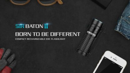 Olight S1R II Baton Rechargeable Torch - 1000 Lumens -15216