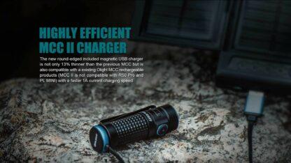 Olight S1R II Baton Rechargeable Torch - 1000 Lumens -15219