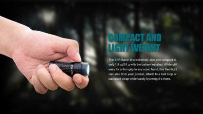 Olight S1R II Baton Rechargeable Torch - 1000 Lumens -15210