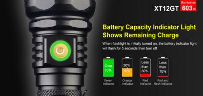 Klarus XT12GT Tactical Flashlight (1600 Lumens)-13070