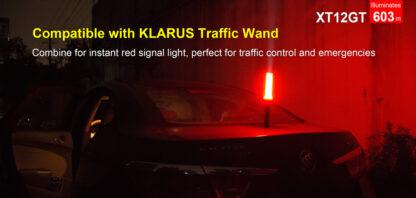 Klarus XT12GT Tactical Flashlight (1600 Lumens)-13078