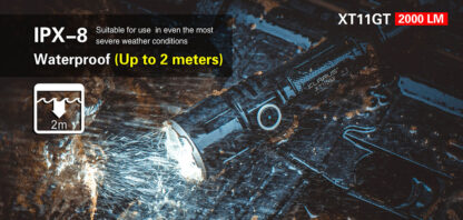 Klarus XT11GT 2000 Lumen Rechargeable Torch-16860