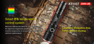 Klarus XT11GT 2000 Lumen Rechargeable Torch-16844