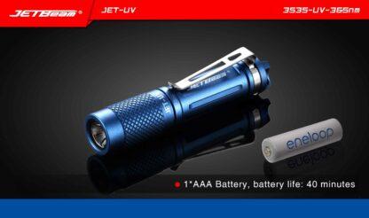 JETBeam JET-UV Ultra Violet Light (365nm)-11458