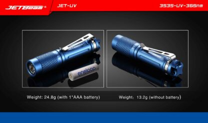 JETBeam JET-UV Ultra Violet Light (365nm)-11451