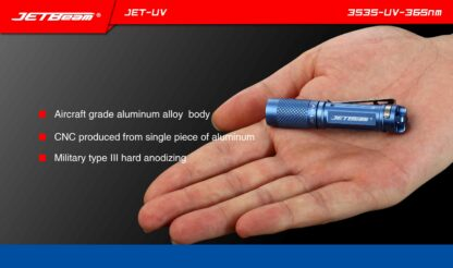 JETBeam JET-UV Ultra Violet Light (365nm)-11461