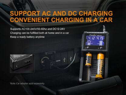 Fenix ARE-A2 Dual-Channel Battery Charger-15266