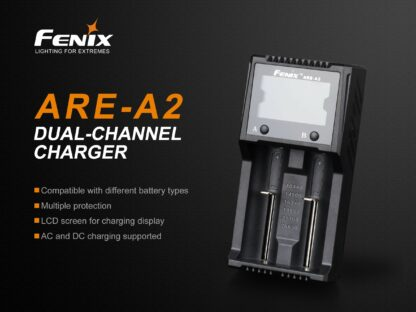 Fenix ARE-A2 Dual-Channel Battery Charger-15268