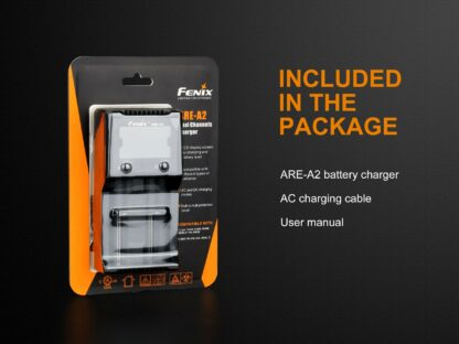 Fenix ARE-A2 Dual-Channel Battery Charger-15267