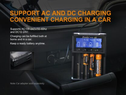 Fenix ARE-A4 Smart Four-Channel Battery Charger-15274