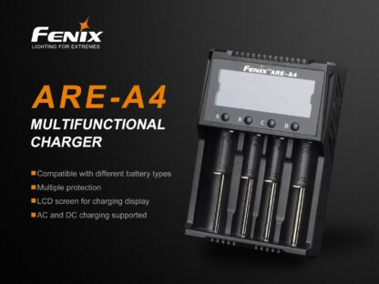 Fenix ARE-A4 Smart Four-Channel Battery Charger-15273