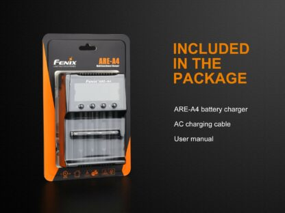 Fenix ARE-A4 Smart Four-Channel Battery Charger-15272