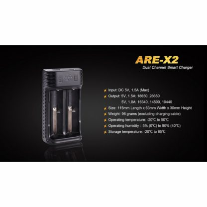 Fenix ARE-X2 Smart Charger-12062
