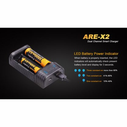 Fenix ARE-X2 Smart Charger-12060