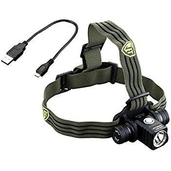 JETBeam HR25 USB Rechargeable Headlamp - 1180 Lumens -12847