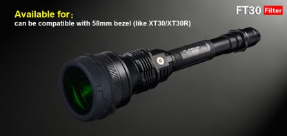 Klarus FT30 RED filter (for 58mm bezel)-12331