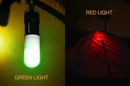 Fenix CL09 Compact Rechargeable Lantern (200 Lumens) - Olive or Black-12341