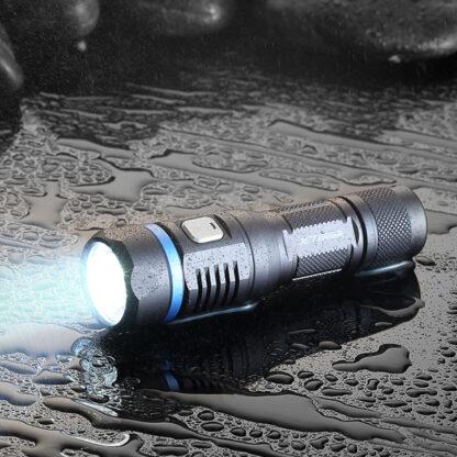 JETBeam C8 Pro USB rechargeable torch (1200 Lumens)-12505