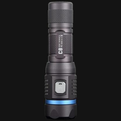 JETBeam C8 Pro USB rechargeable torch (1200 Lumens)-12489