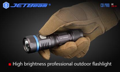 JETBeam C8 Pro USB rechargeable torch (1200 Lumens)-12501