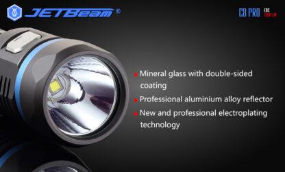 JETBeam C8 Pro USB rechargeable torch (1200 Lumens)-12493